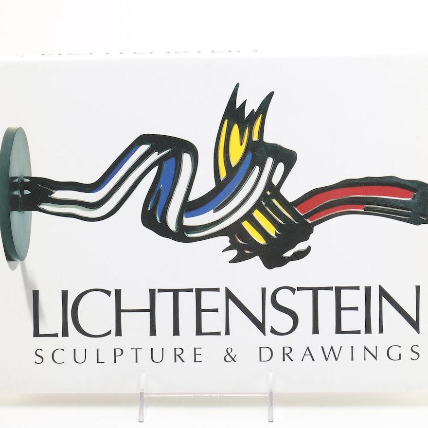 """1999 """"Lichtenstein: Sculpture & Drawings"""""""