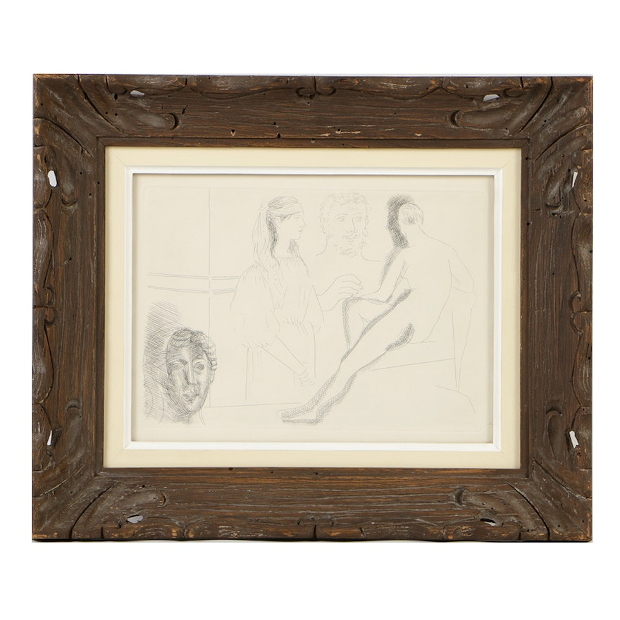 Pablo Picasso Limited Edition Etching