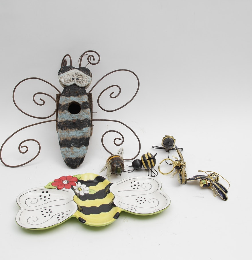 Bee Themed Decorative Items
