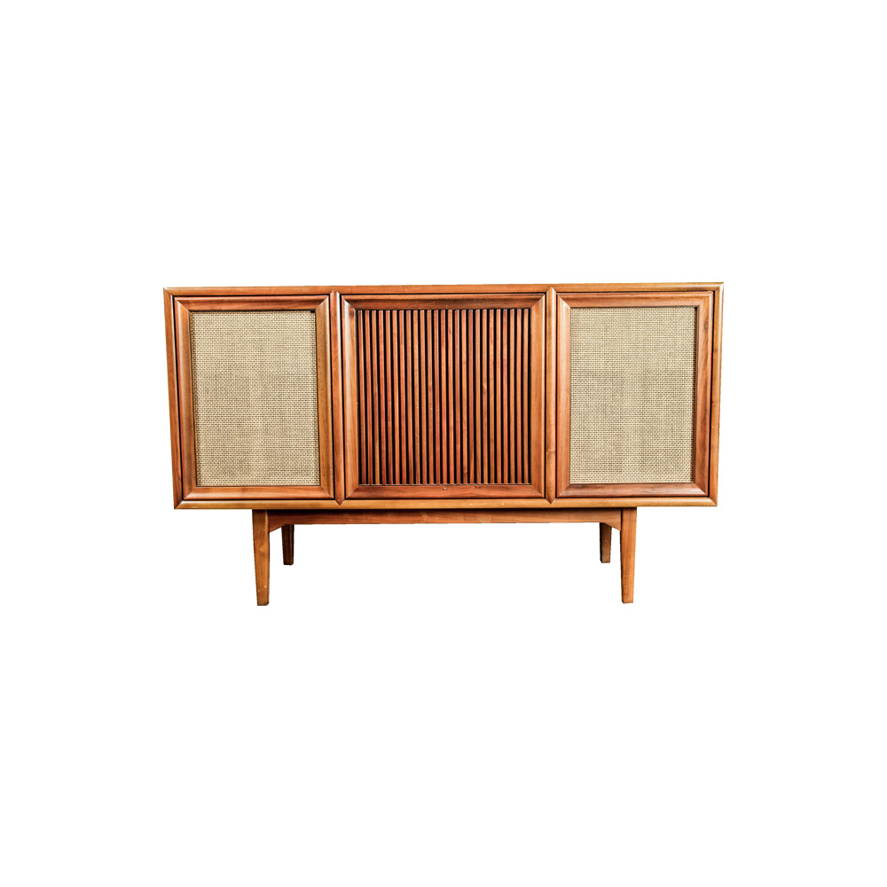 1959 Motorola Turntable and Stereo Console by Drexel : EBTH