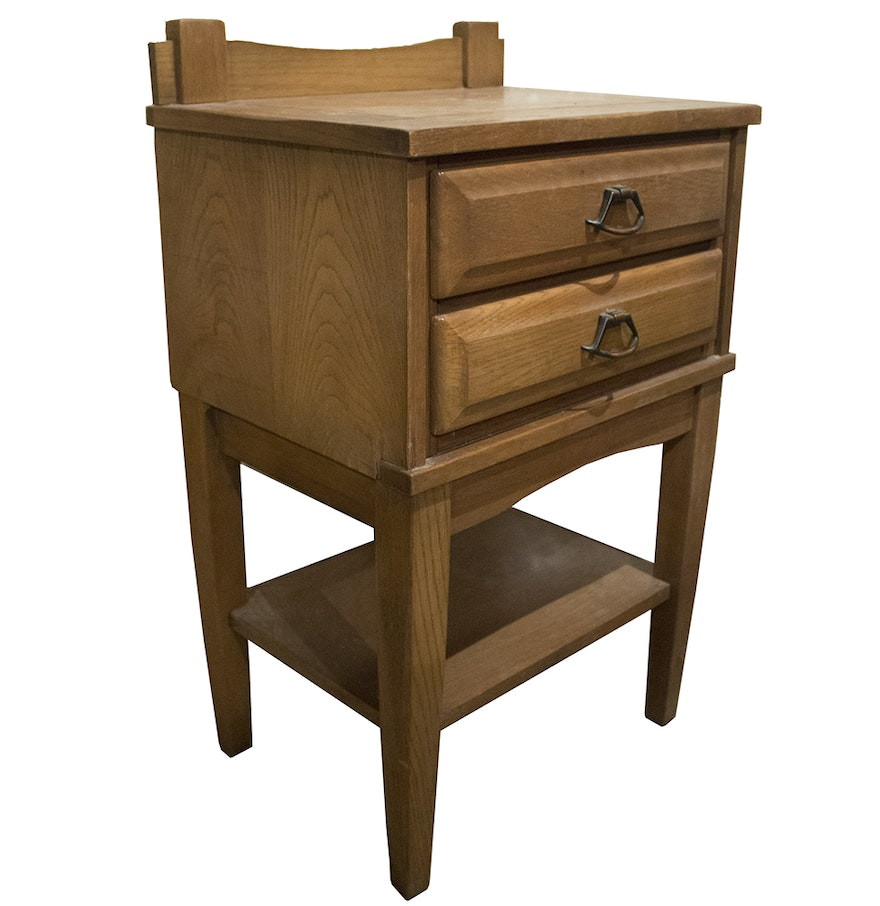 Mid Century Nightstand By Williams Furniture Corp Ebth
