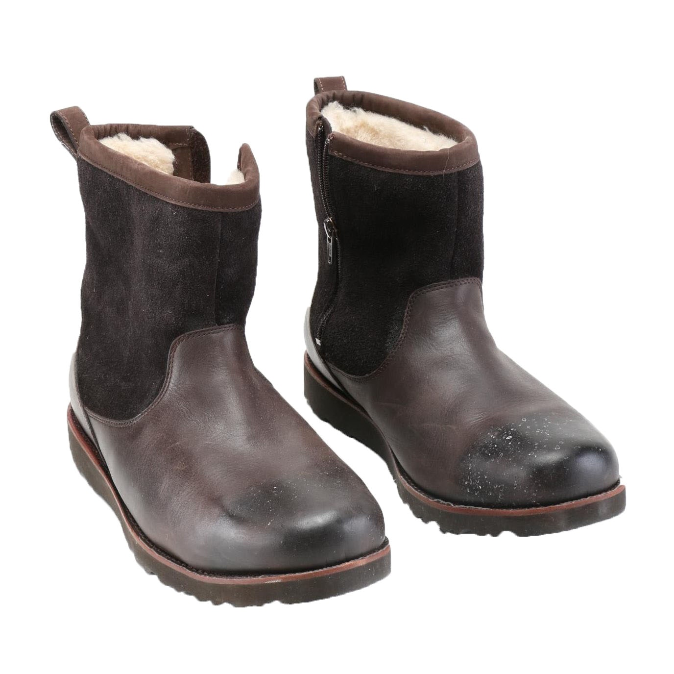 are ugg suede boots waterproof