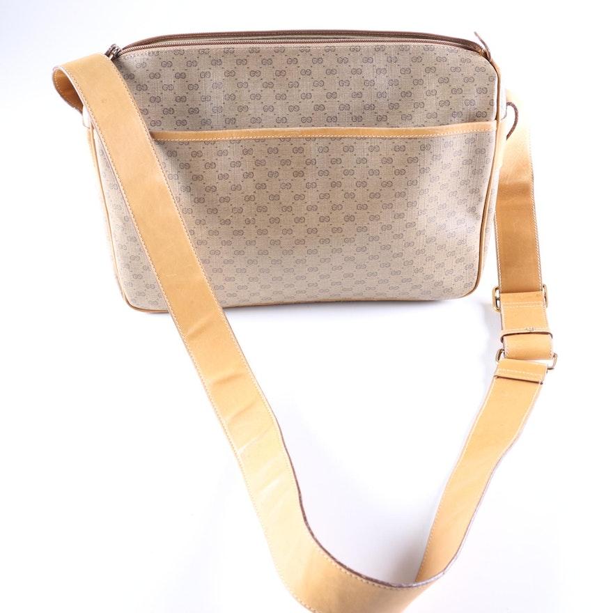 2c1228c2a8 1970s Vintage Gucci Monogram Bag : EBTH