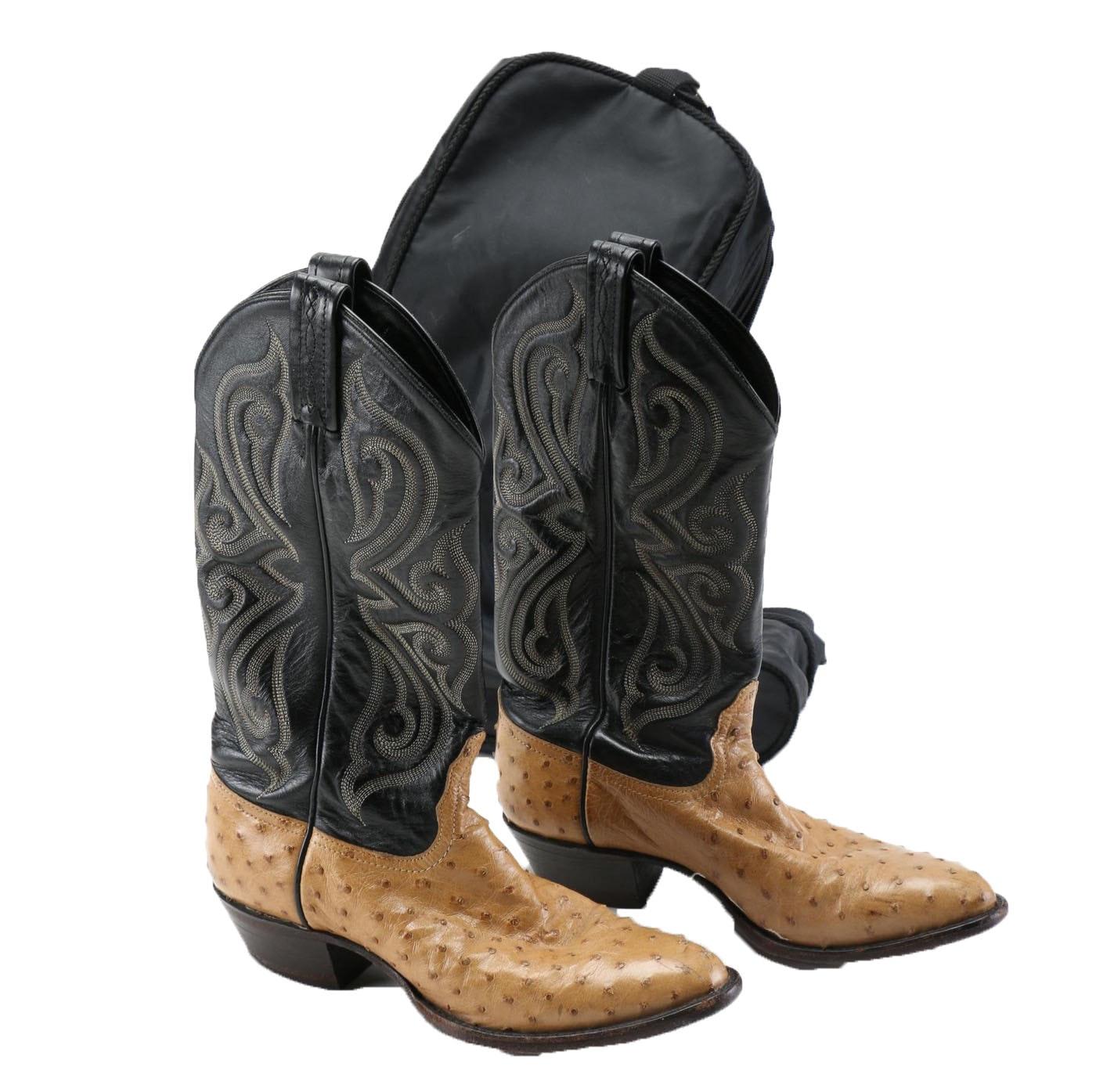 Excellent  Cowboy Amp Western Boots  Women39s Nocona 13quot Full Quill Ostr