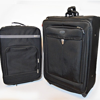 Three Black Rolling Luggage Cases 950a5bbafad6e