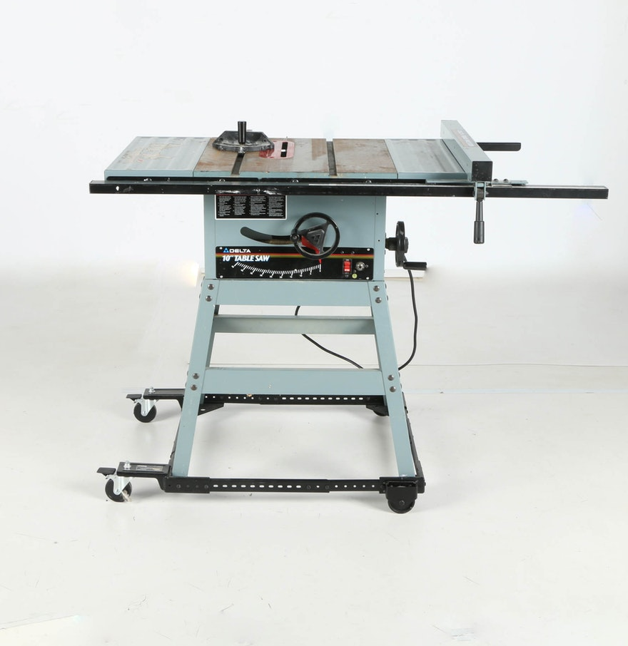 Delta 10 Table Saw Ebth