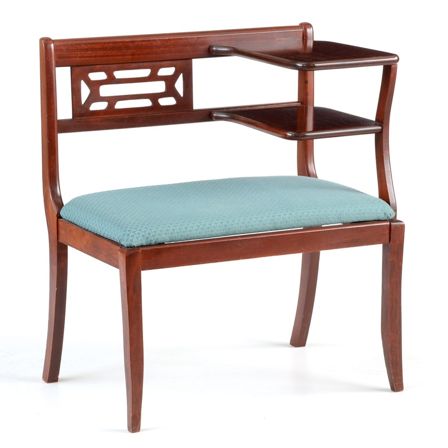 Vintage Telephone Chair Ebth