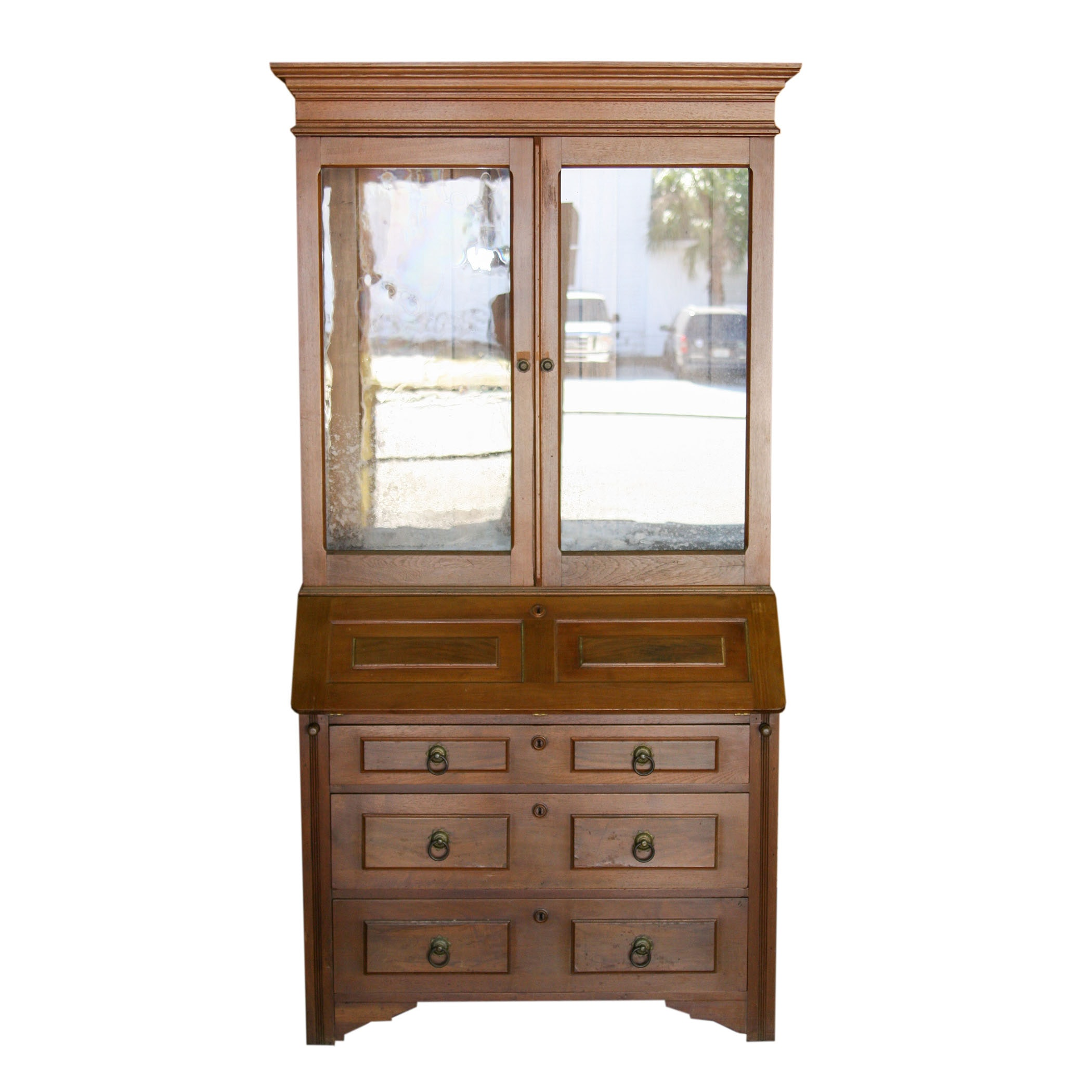 Secretary Desk and Cabinet Top