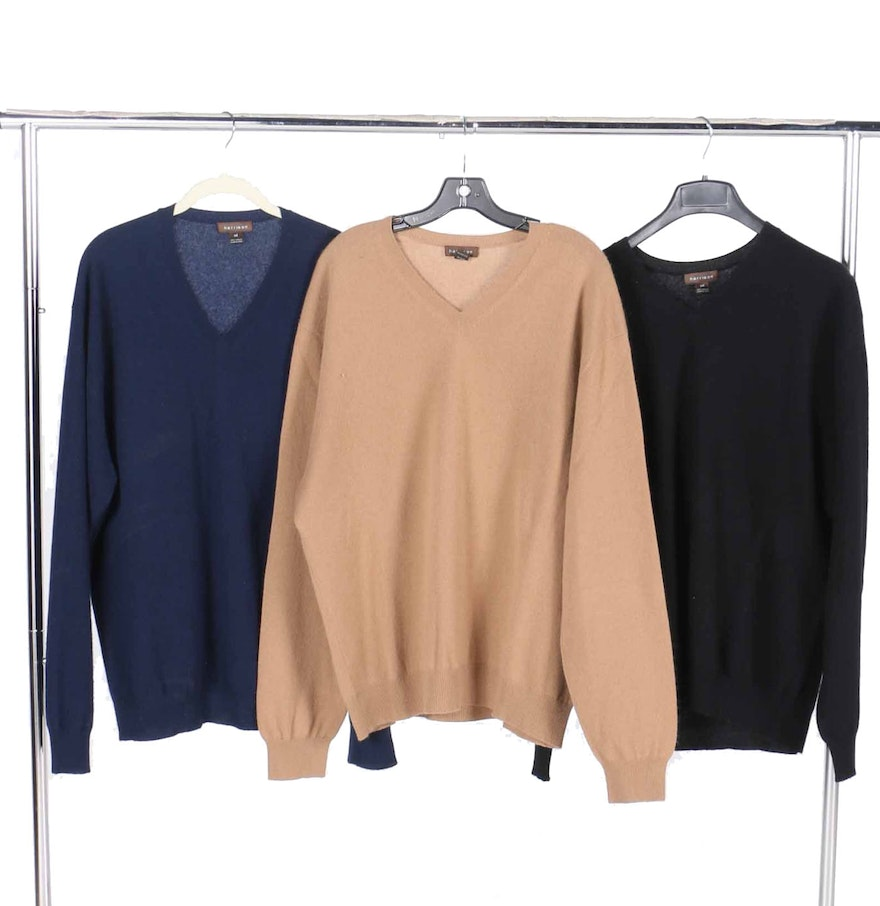 Harrison Men's Cashmere Sweaters in Size XXL : EBTH