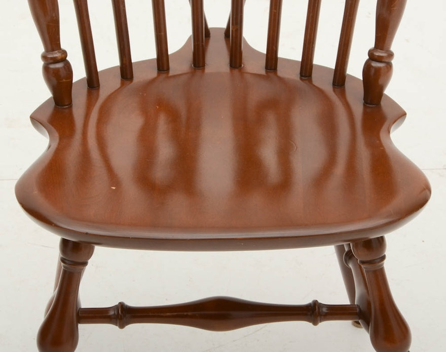 Ethan Allen Quot Baumritter Quot Maple Drop Leaf Dining Table And