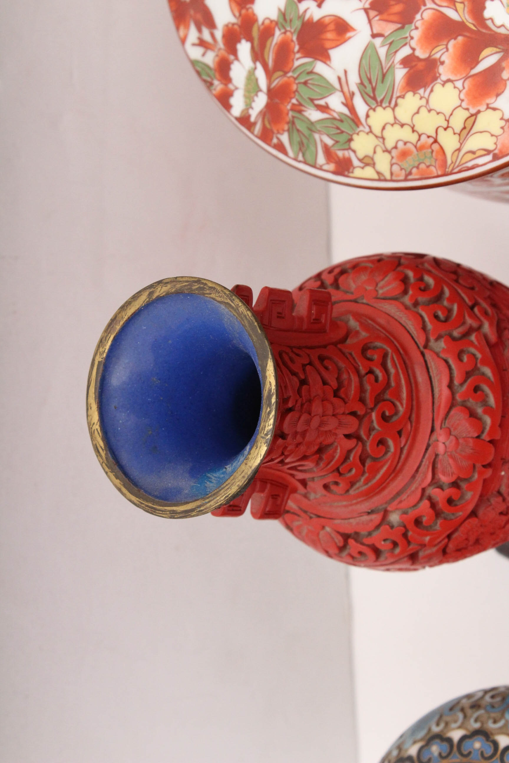 Vintage Chinese Cloisonn 233 Vase And More Ebth