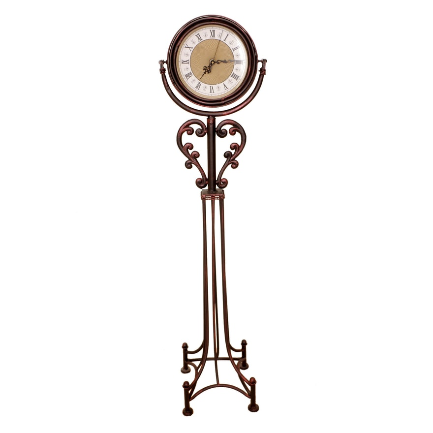 Metal Floor Clock Ebth