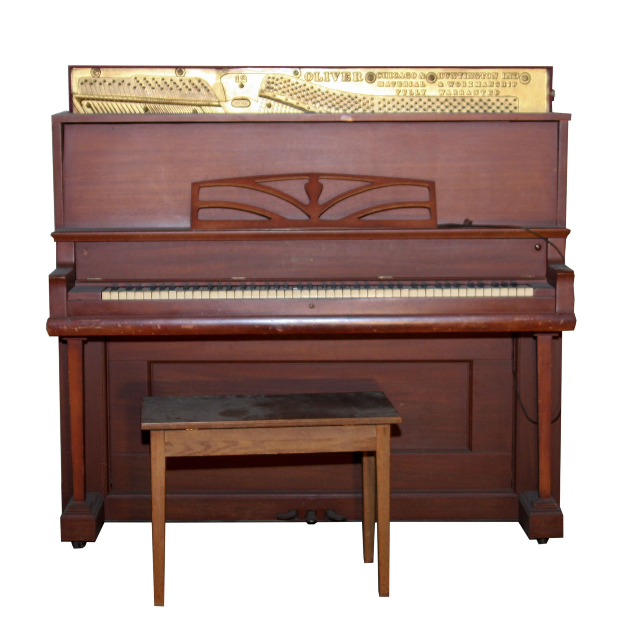 Oliver Upright Piano