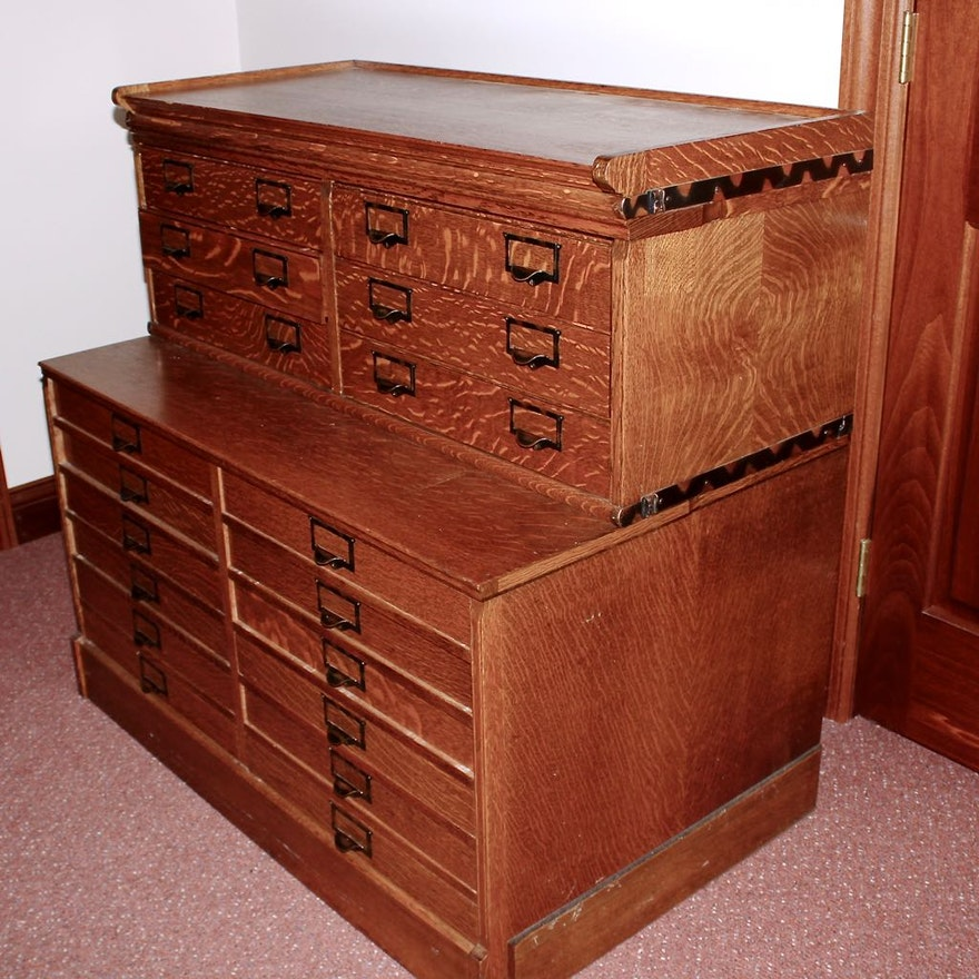 craft p w living in drawer storage stewart martha cabinet flat space file rhododendron leaf