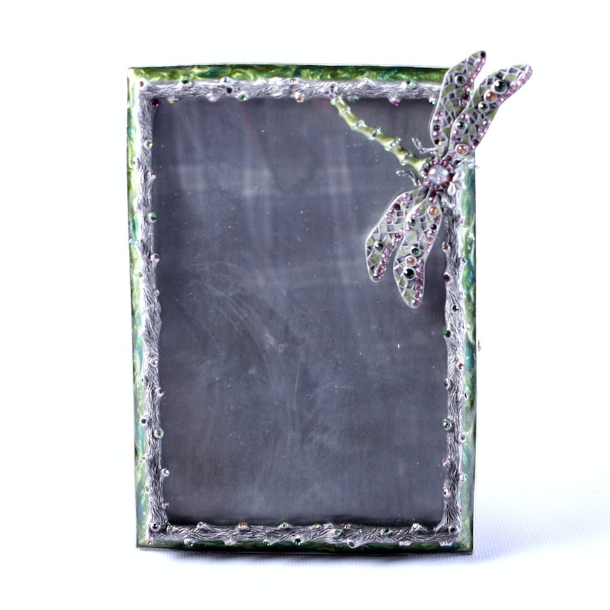Jay Strongwater Dragonfly Picture Frame : EBTH