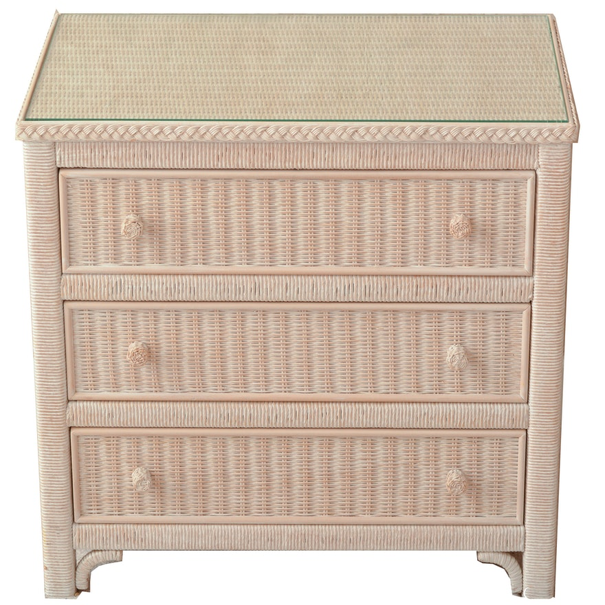 Best Lexington Henry Link Wicker Dresser Ebth Ik49 Height And Width Size 880 X Source Www