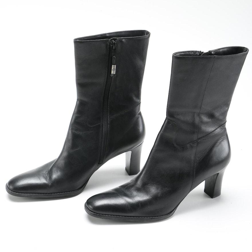 7999d1ee7 Ralph Lauren Black Leather