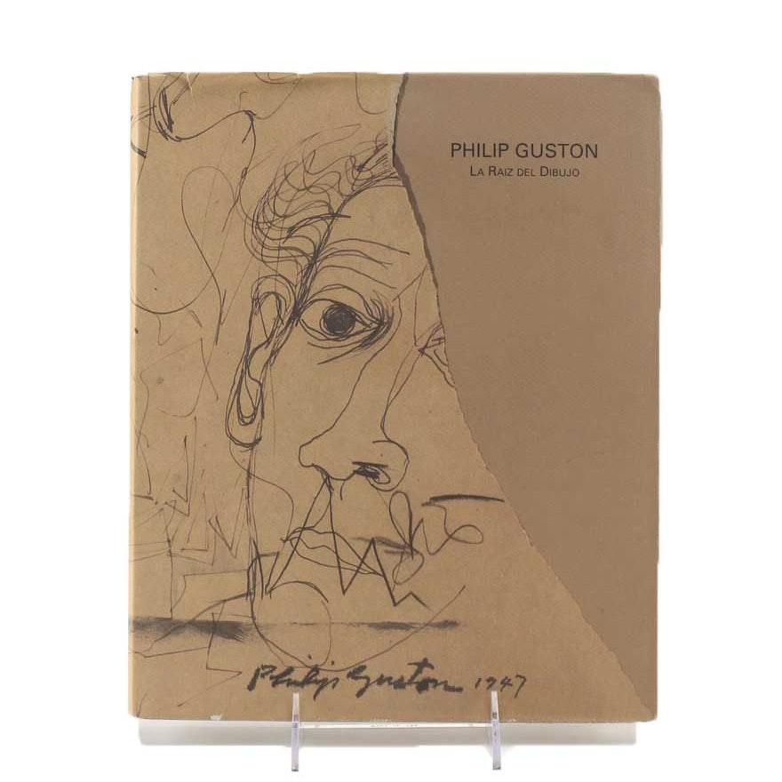 """First Edition of """"Philip Guston: La Raiz del Dibujo"""""""