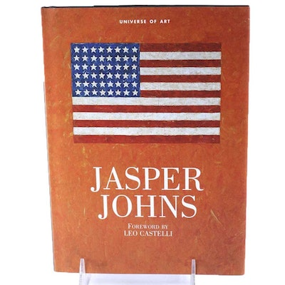 "Signed by the Artist ""Jasper Johns"" Universe of Art Book"