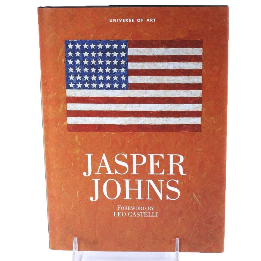 """Signed by the Artist """"Jasper Johns"""" Universe of Art Book"""