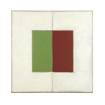 """Tom Levine Oil Painting on Canvas """"Opus 28 #2"""""""