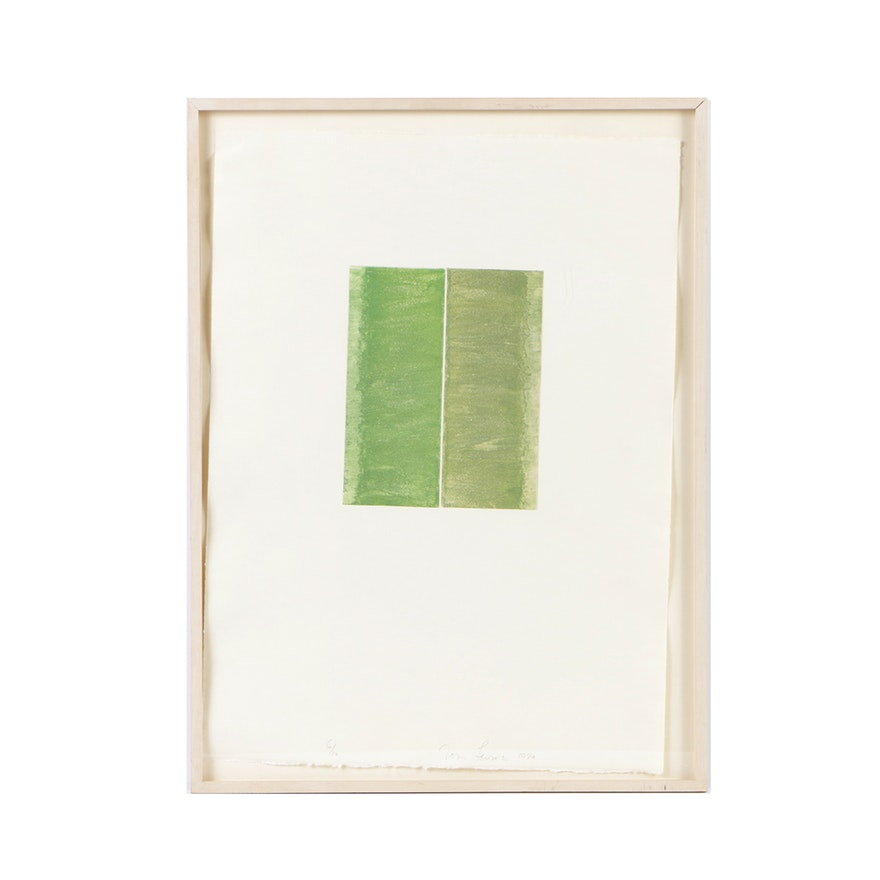 """Tom Levine Limited Edition Etching """"Hague"""""""