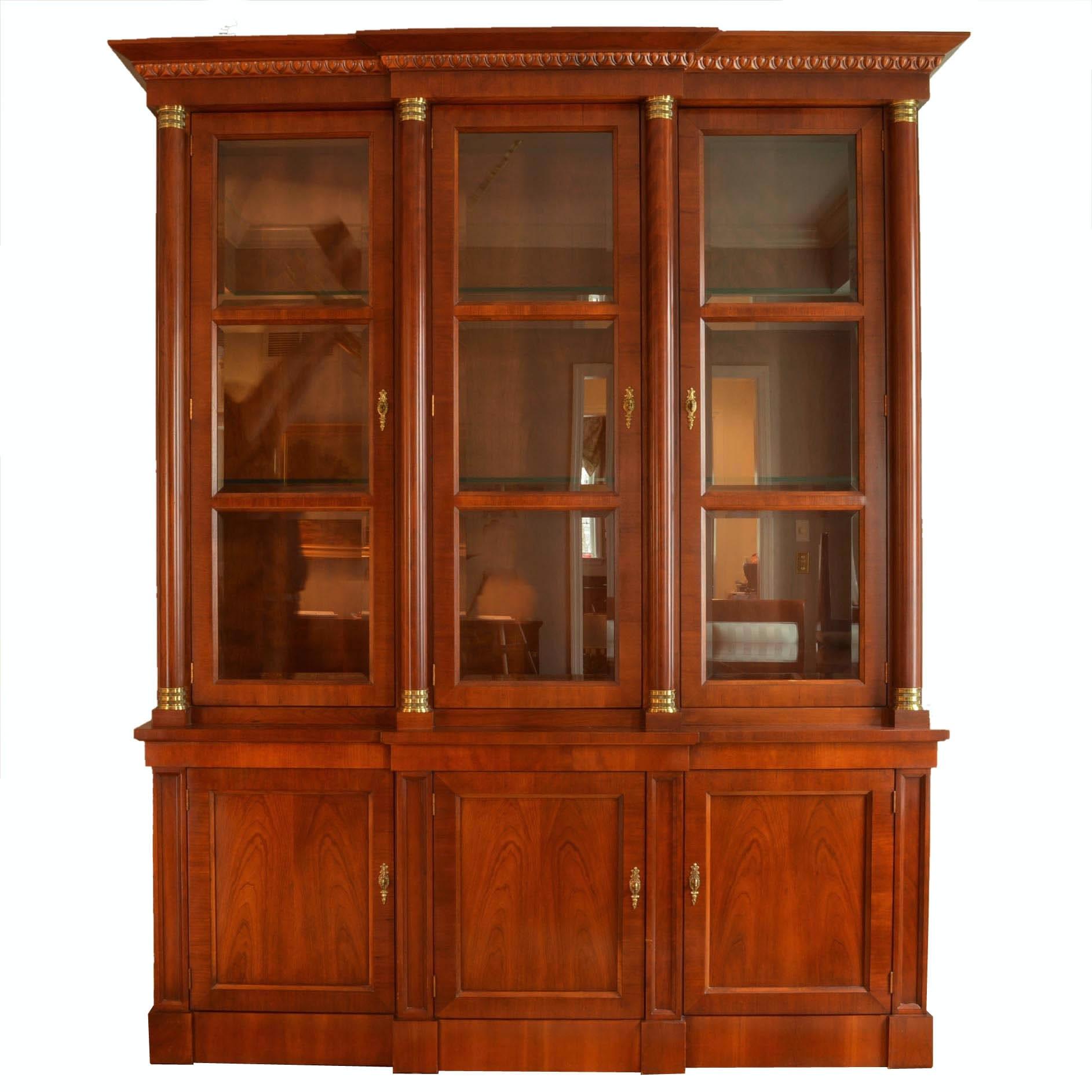Baker Furniture U0027Palladian Collectionu0027 Breakfront Cabinet ...