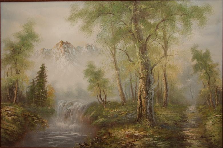 Roger Brown Oil Paintings