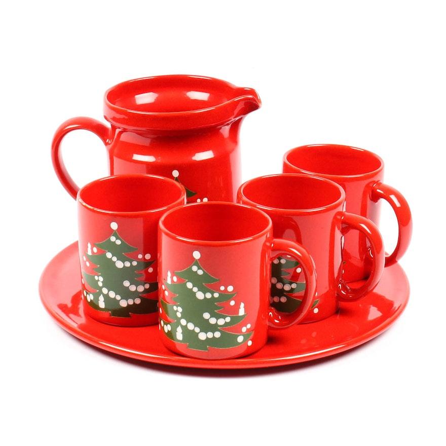 Waechtersbach Christmas Tableware Set Ebth