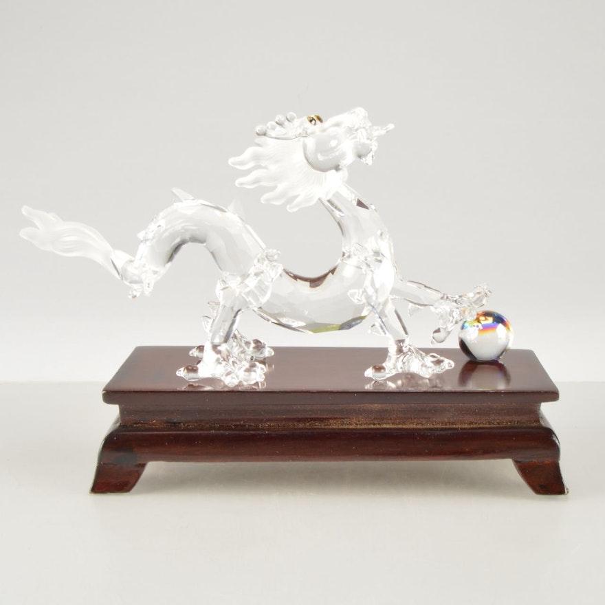 Swarovski Crystal Chinese Zodiac Dragon