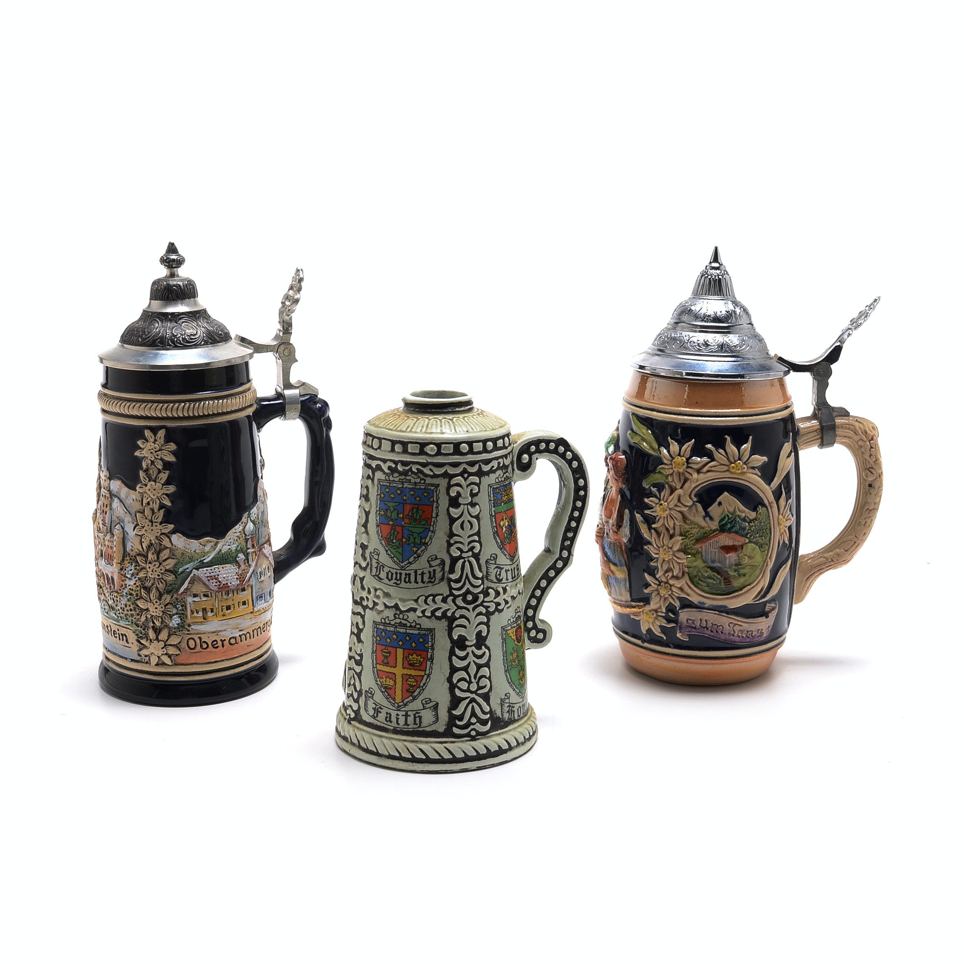 1 Liter Ceramic Beer Stein