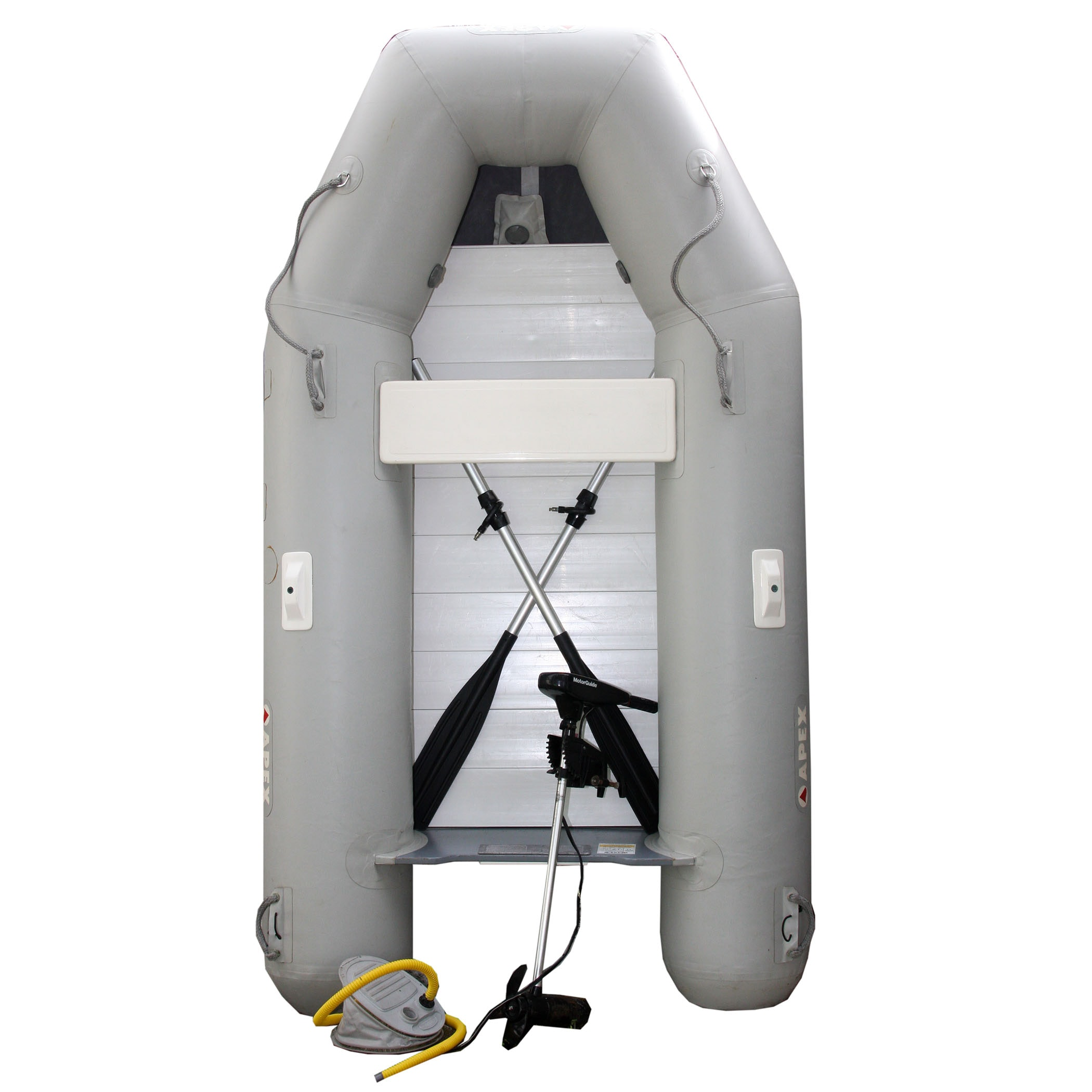 APEX Inflatable Dingy With Trolling Motor