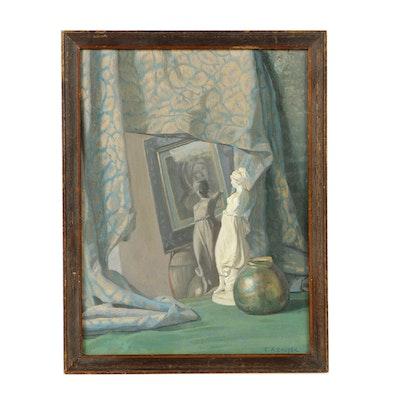 Charles Alexander Couper Oil on Canvas Still Life