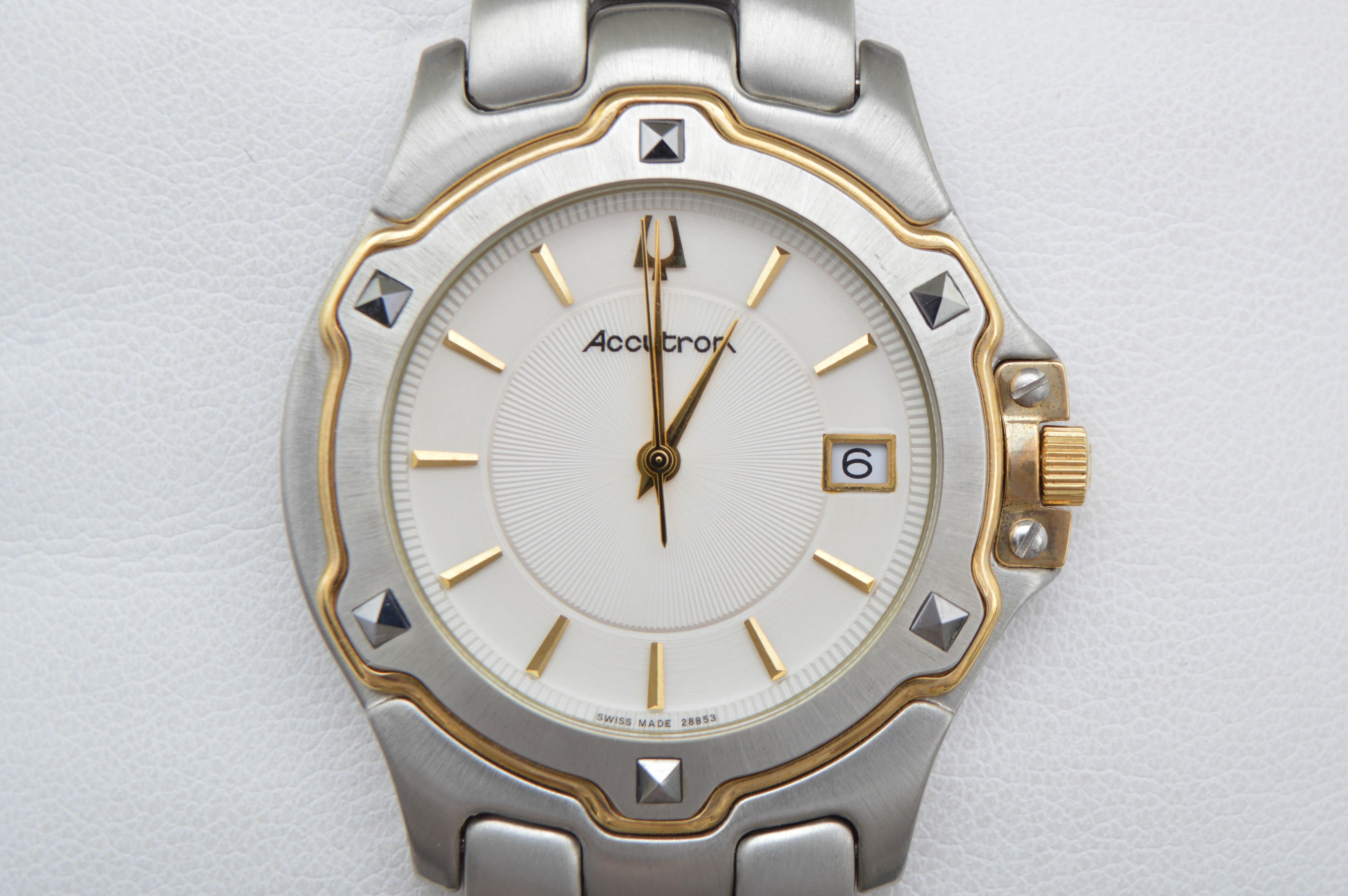 Men's Accutron by Bulova Wristwatch New in Box