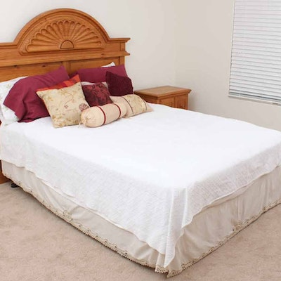 Birdseye maple rope bed 1830 39 s 1840 39 s ebth for Rope bed frame