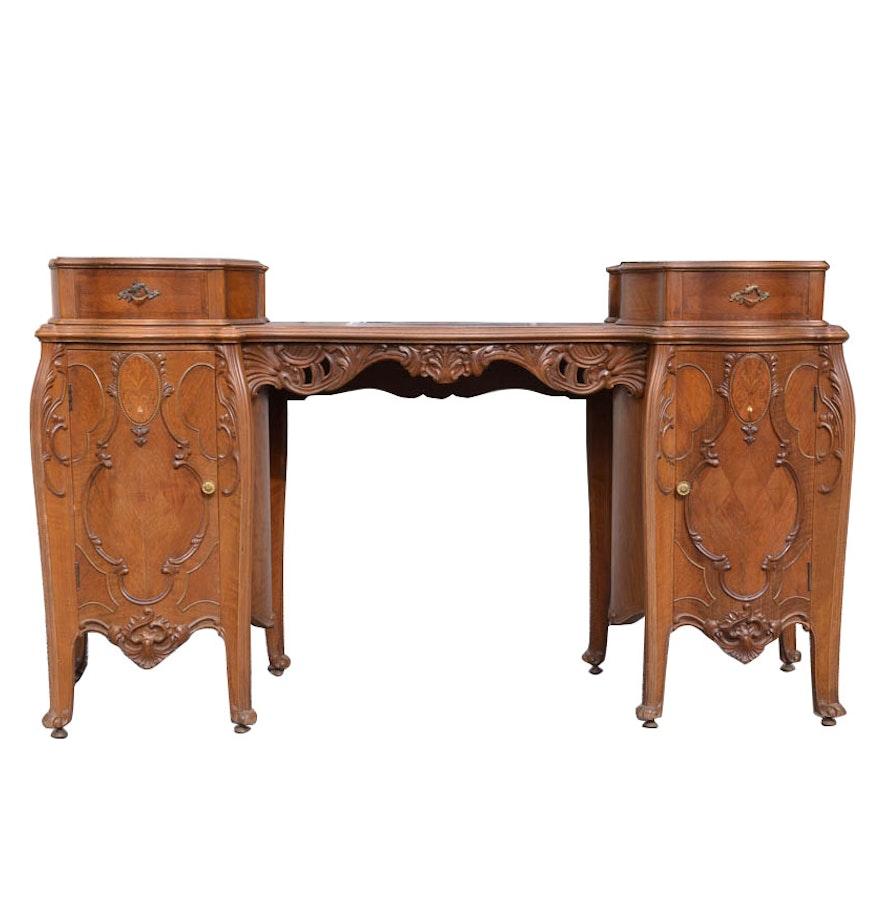 antique louis xv style bedroom vanity ebth