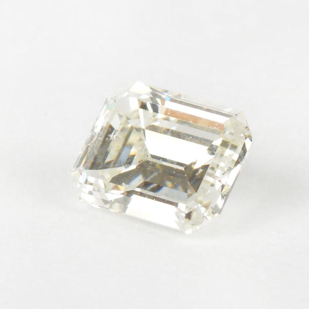 1.09 CT Loose Emerald Cut Diamond