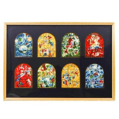 Framed Marc Chagall Postcards