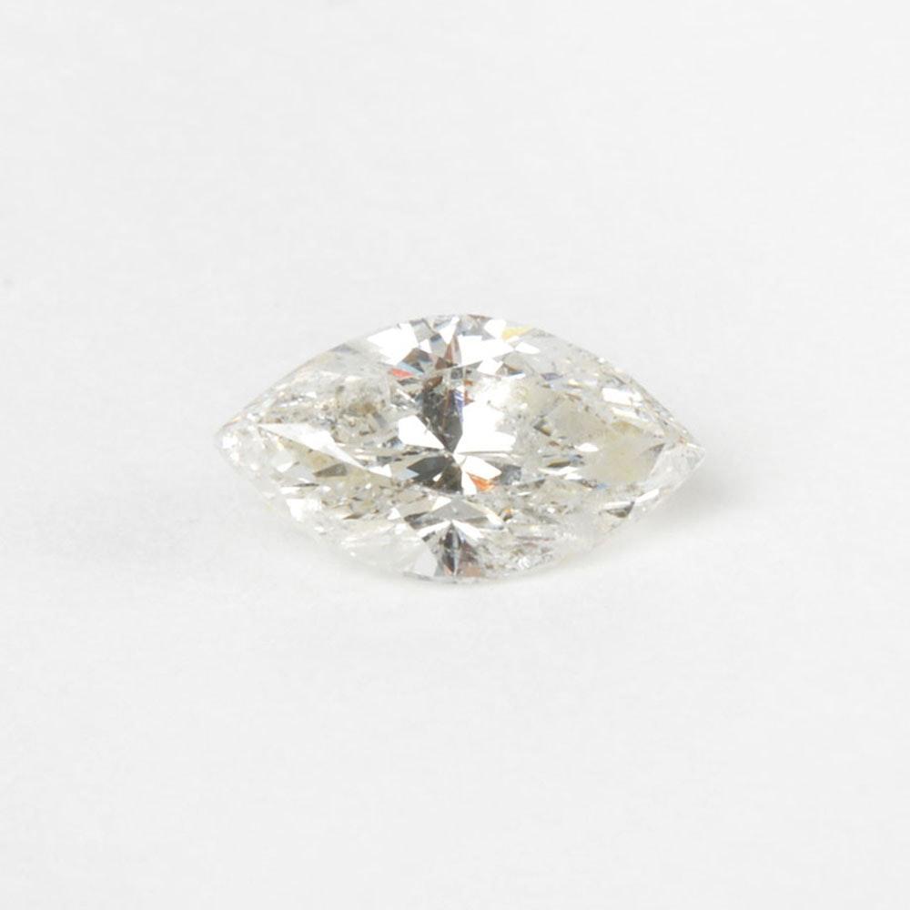 Loose Marquise Cut 0.51 CT Diamond