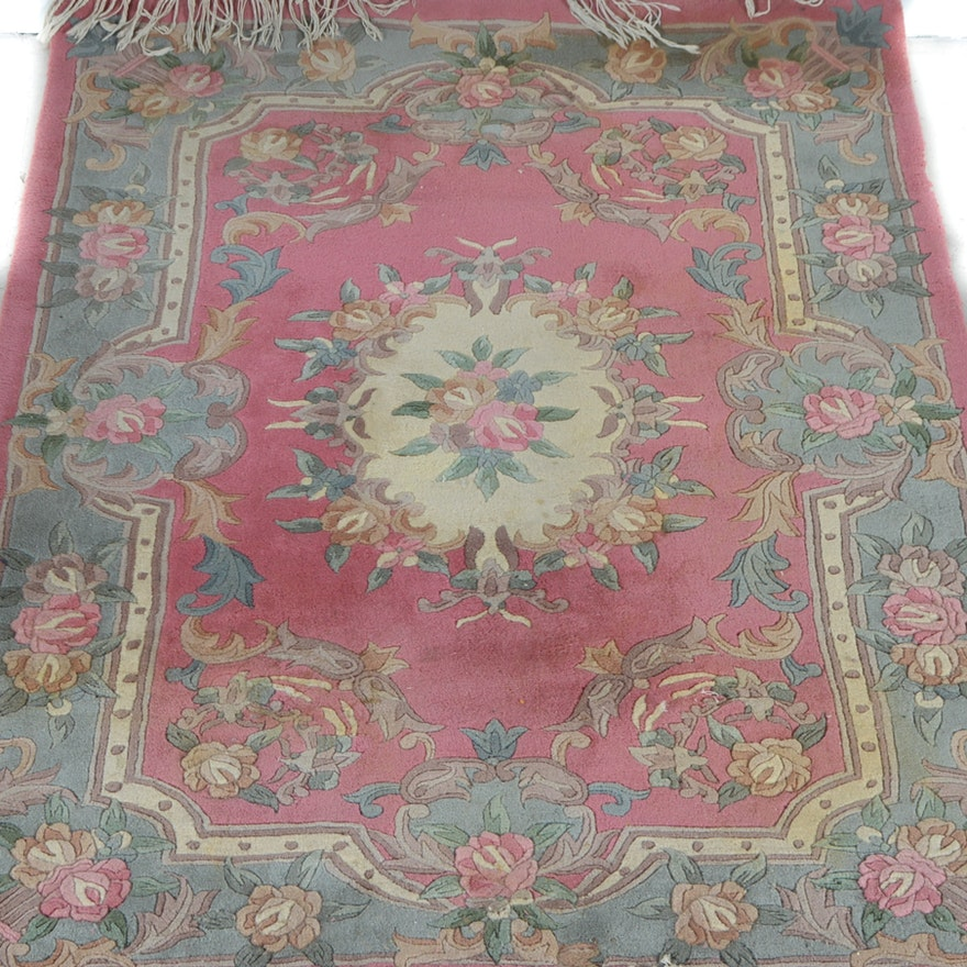 Couristan Aubusson Style Sculpted Wool Rug