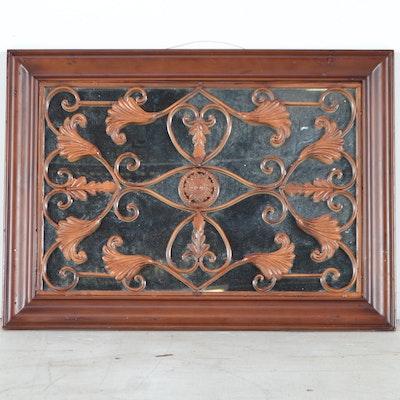 Gilt rococo style vanity mirror ebth for Rococo decorative style