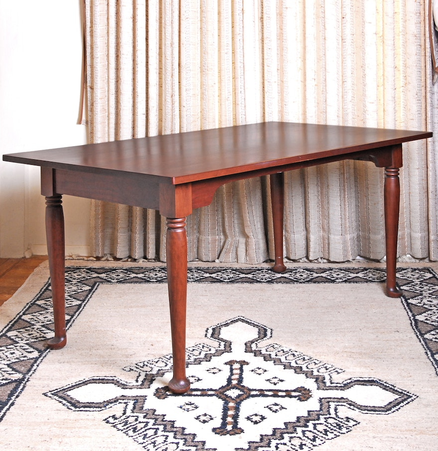 Cherry Dining Room Table from Tom Seely Furniture : EBTH
