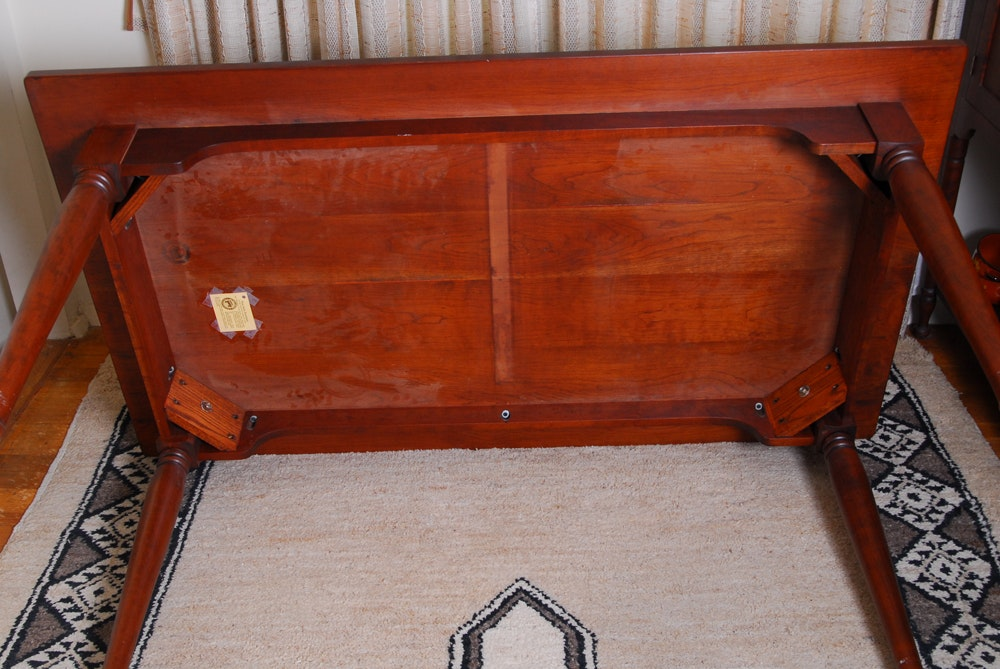 Cherry Dining Room Table From Tom Seely Furniture Ebth