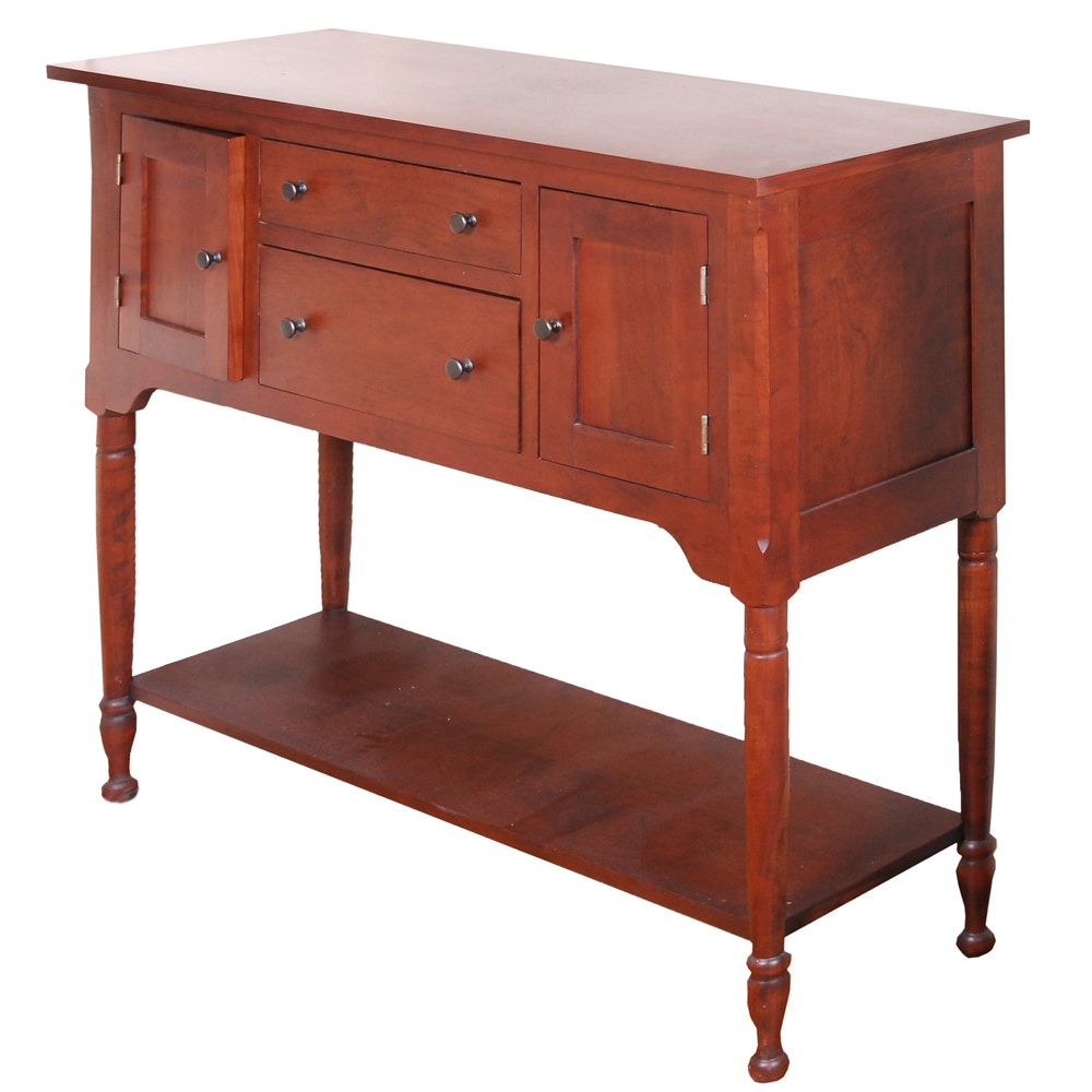 Superb Tom Seely Furniture Handcrafted Shenandoah Cherry Wood Buffet ...