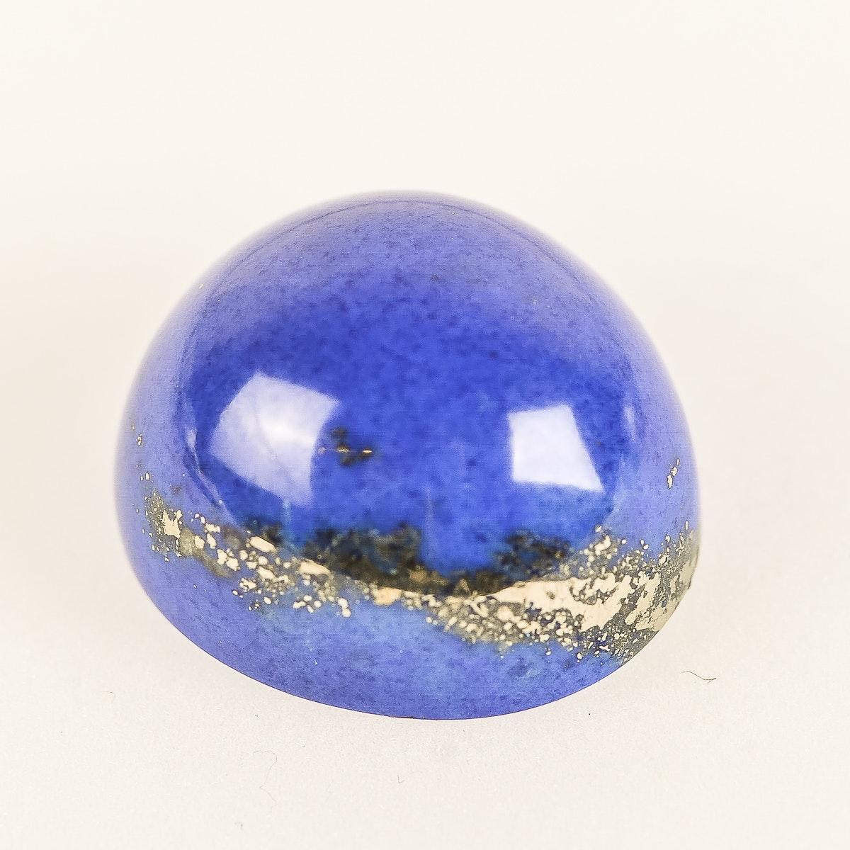 Loose 38.8 CTW Dyed Lapis Lazuli Stone