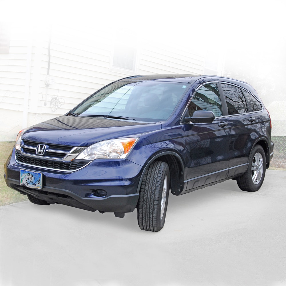 2010 Navy Blue Honda 4-Wheel Drive CR-V
