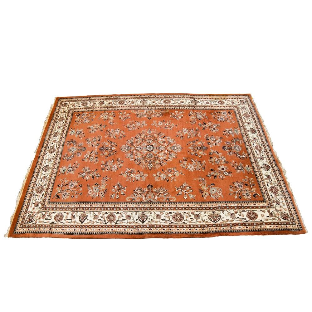 Handwoven Kerman-Style Area Rug
