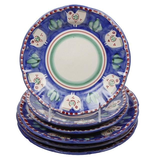 Set of Vietri Solimene Plates