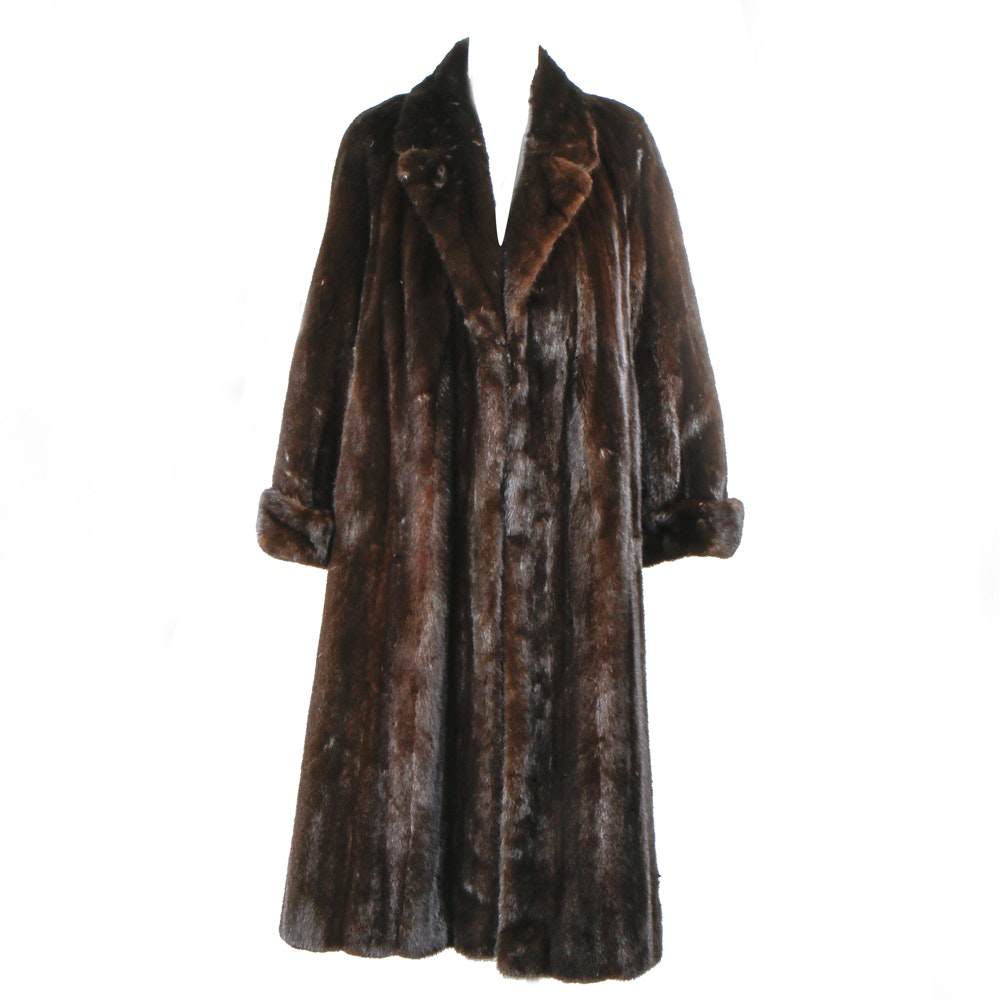 Vintage Mink Coat by Somper