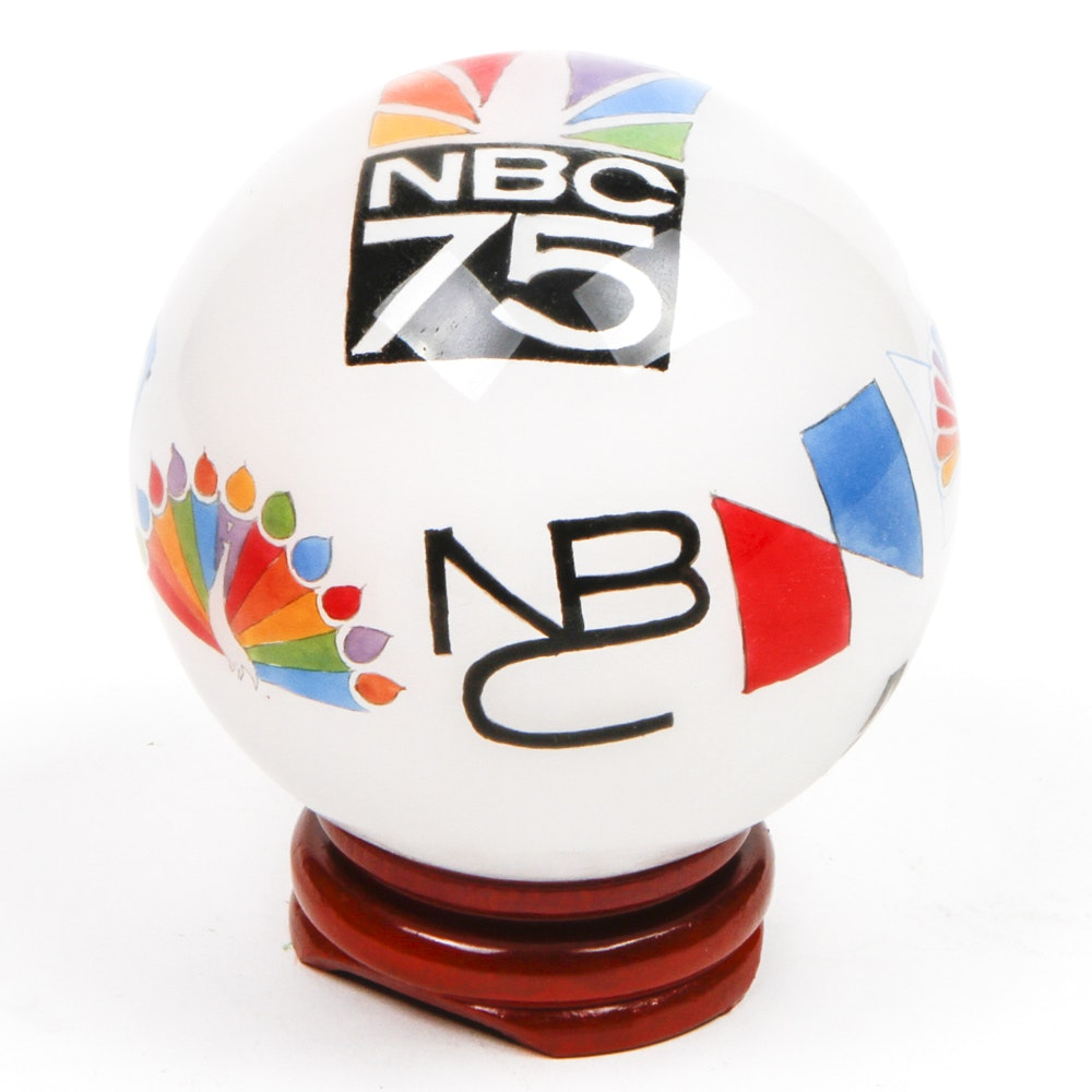 NBC Commemorative Glass Ball